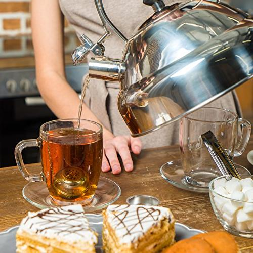 Select Gorgeous Tea – Whistling I Fastest Stainless 11 cup