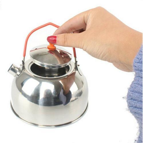 Silver Kettle Pot