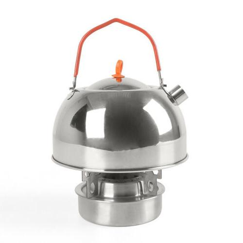 Silver Whistling Stove Pot for kitchen Camping