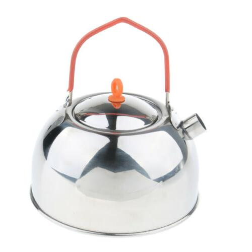Silver Teapot Stove Coffee Pot for