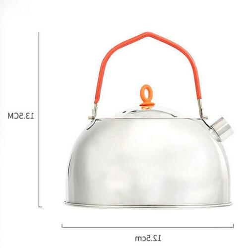 Silver Stove Pot for kitchen