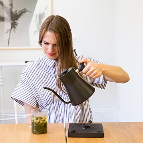Fellow Stagg Pour-over For And Matte Variable Watt Heating, Built-in