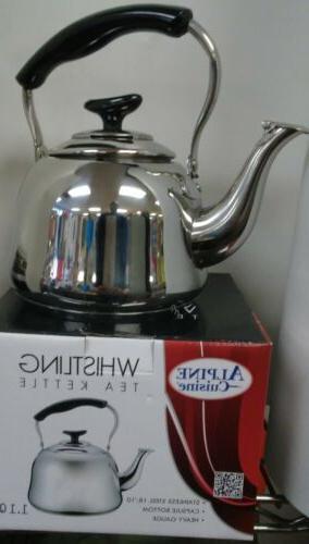 Stainless Steel 18/10 Pot Whistling Tea Capsule