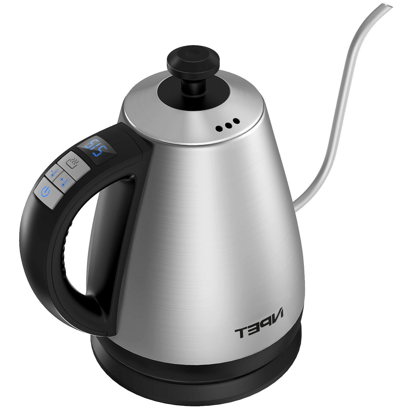 Stainless Kettle Temp Electric Kettle Cafe