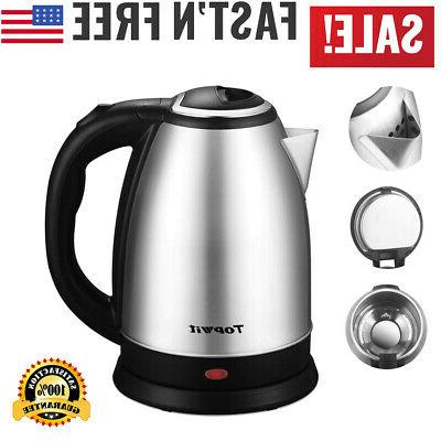 stainless steel electric tea kettle hot water