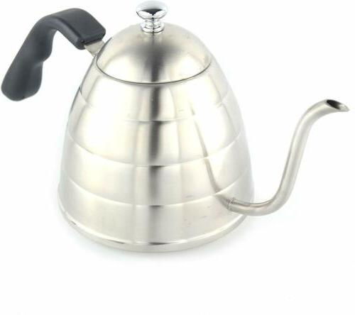Stainless Steel Home Gooseneck Coffee/Tea Pot Hot Water Kett