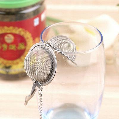 Stainless Kettles Tea Sphere Shape Mesh Infuser Strainer VN