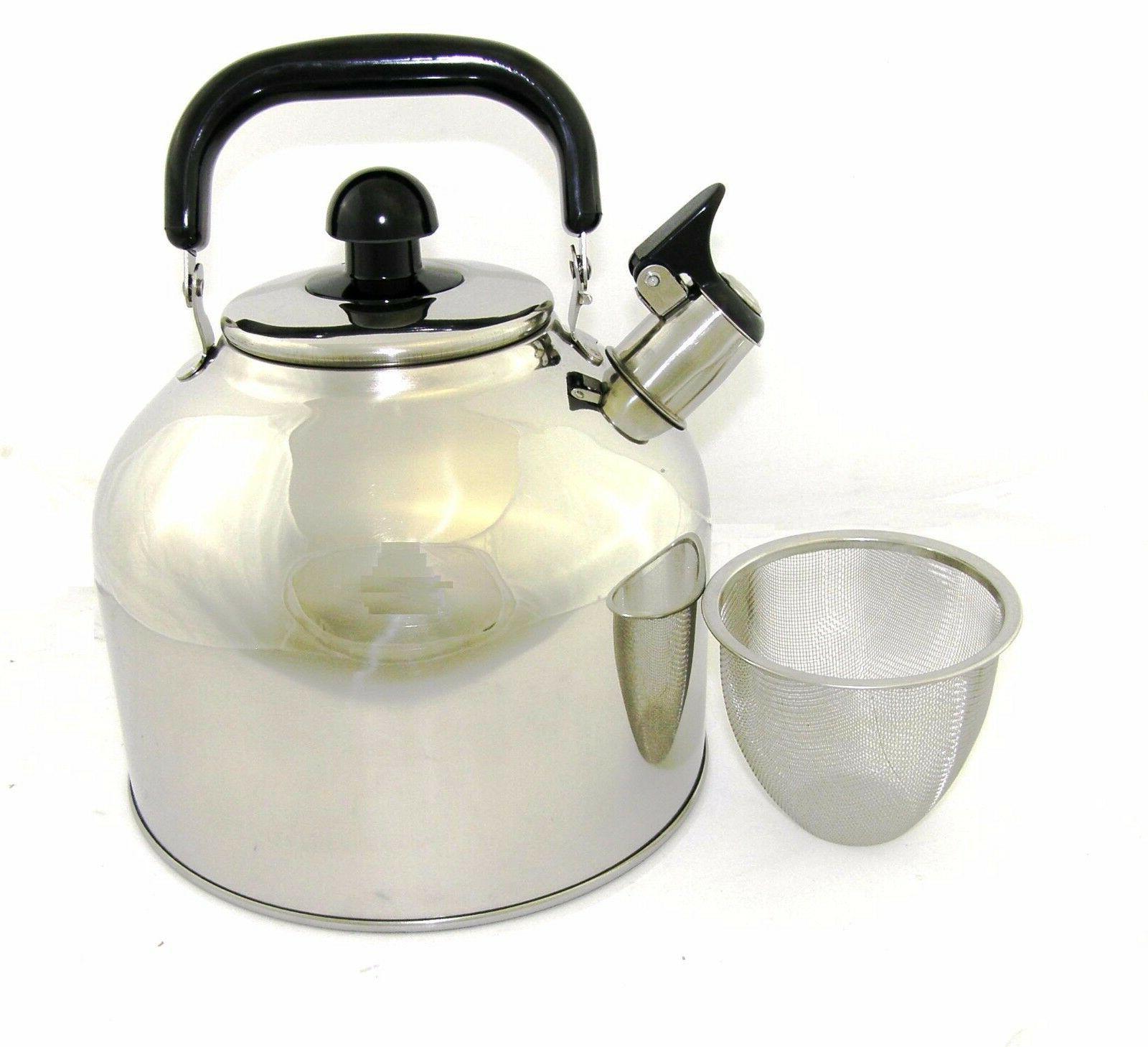 Stainless 4.5 Liter Quart Whistling WK1922