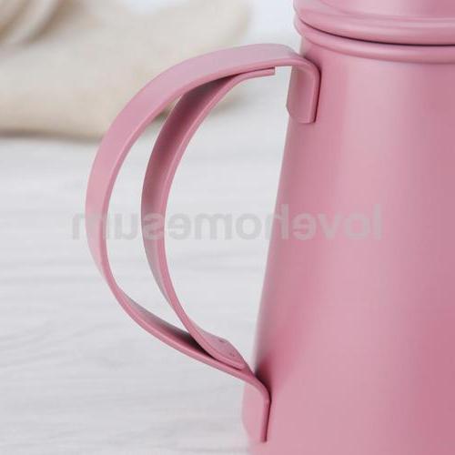 Stainless Pot Espresso Percolator Pot Pink