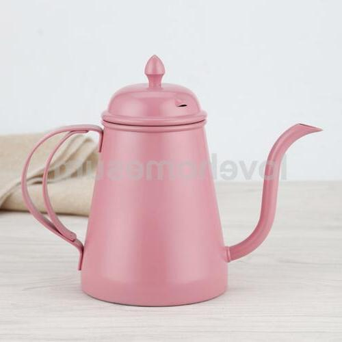 Stainless Steel Pot Cappuccino Pot Pink