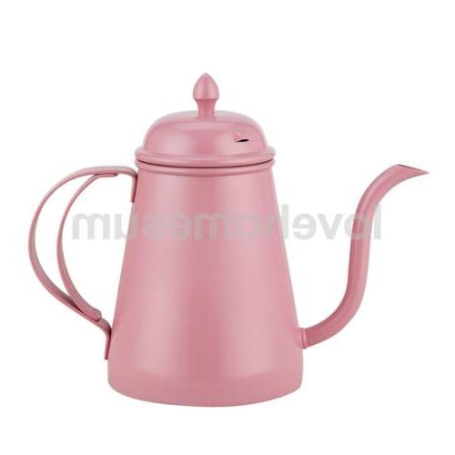stainless steel tea coffee pot espresso percolator