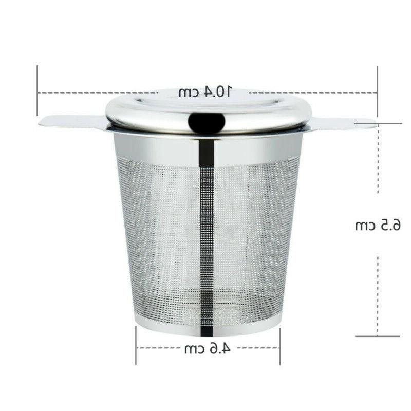 Stainless Tea Strainer Lid Kettle