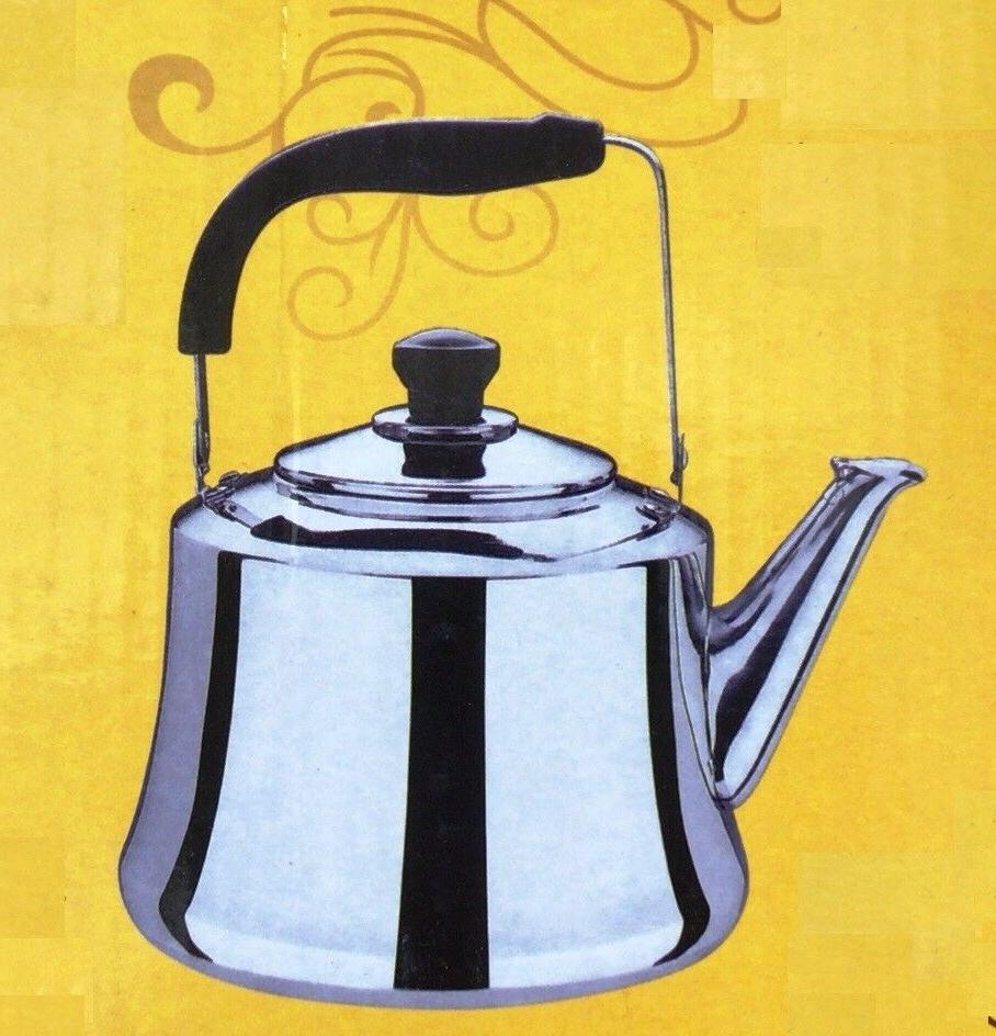 stainless steel tea kettle pot 4 l