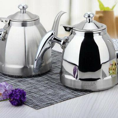 Stainless Steel Teapot Cooker Teakettles 1.5L