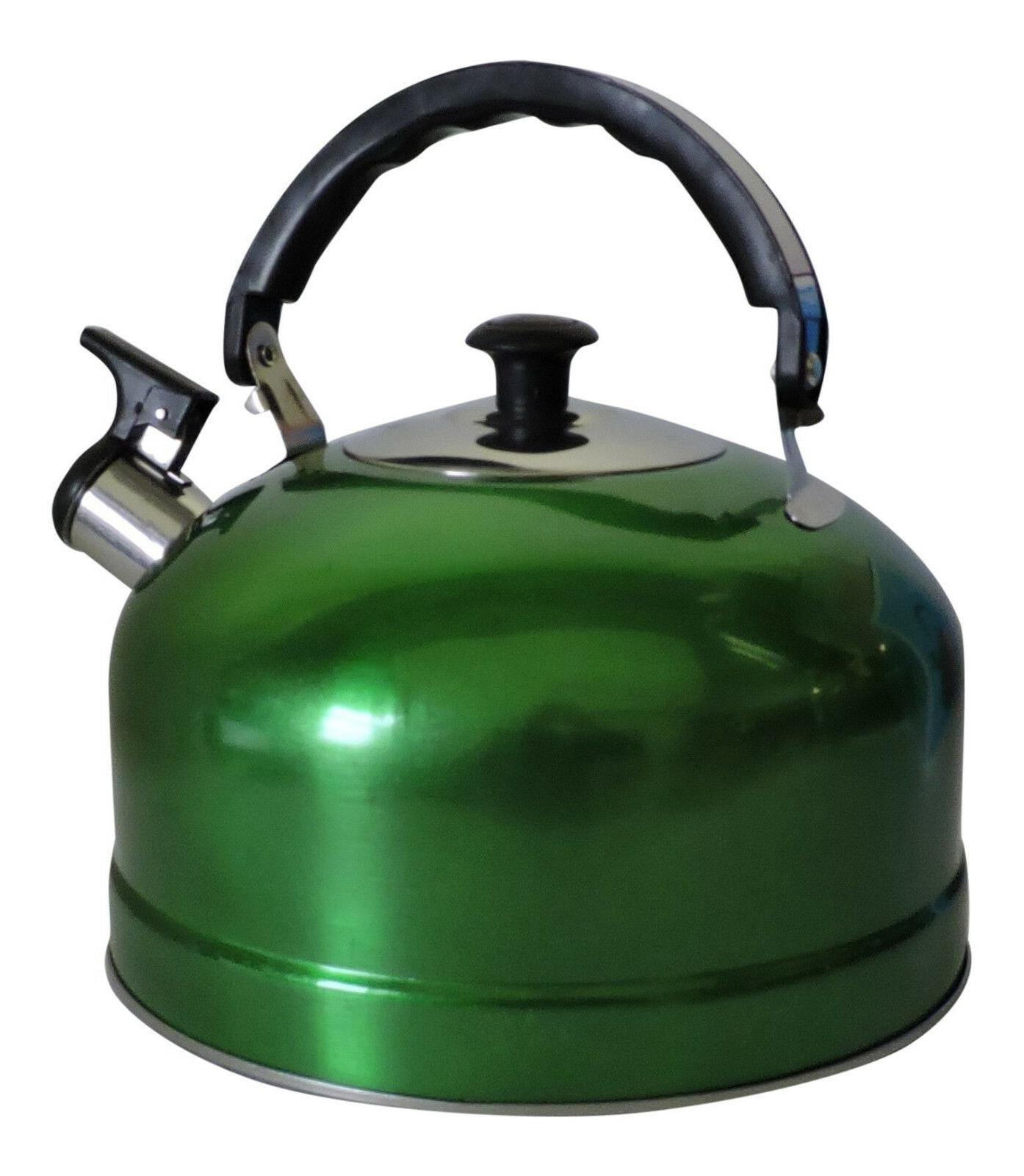 stainless steel whistling kettle water