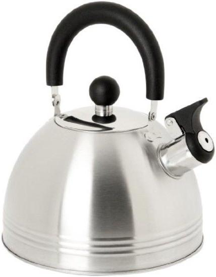 Stainless Steel Whistling Tea Kettle, Mr. Coffee, Silver