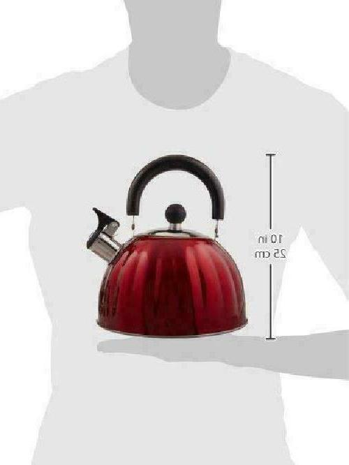 Stainless Tea Kettle Teapot Water Stove Top