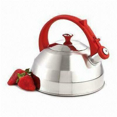 steppes stainless steel whistling tea