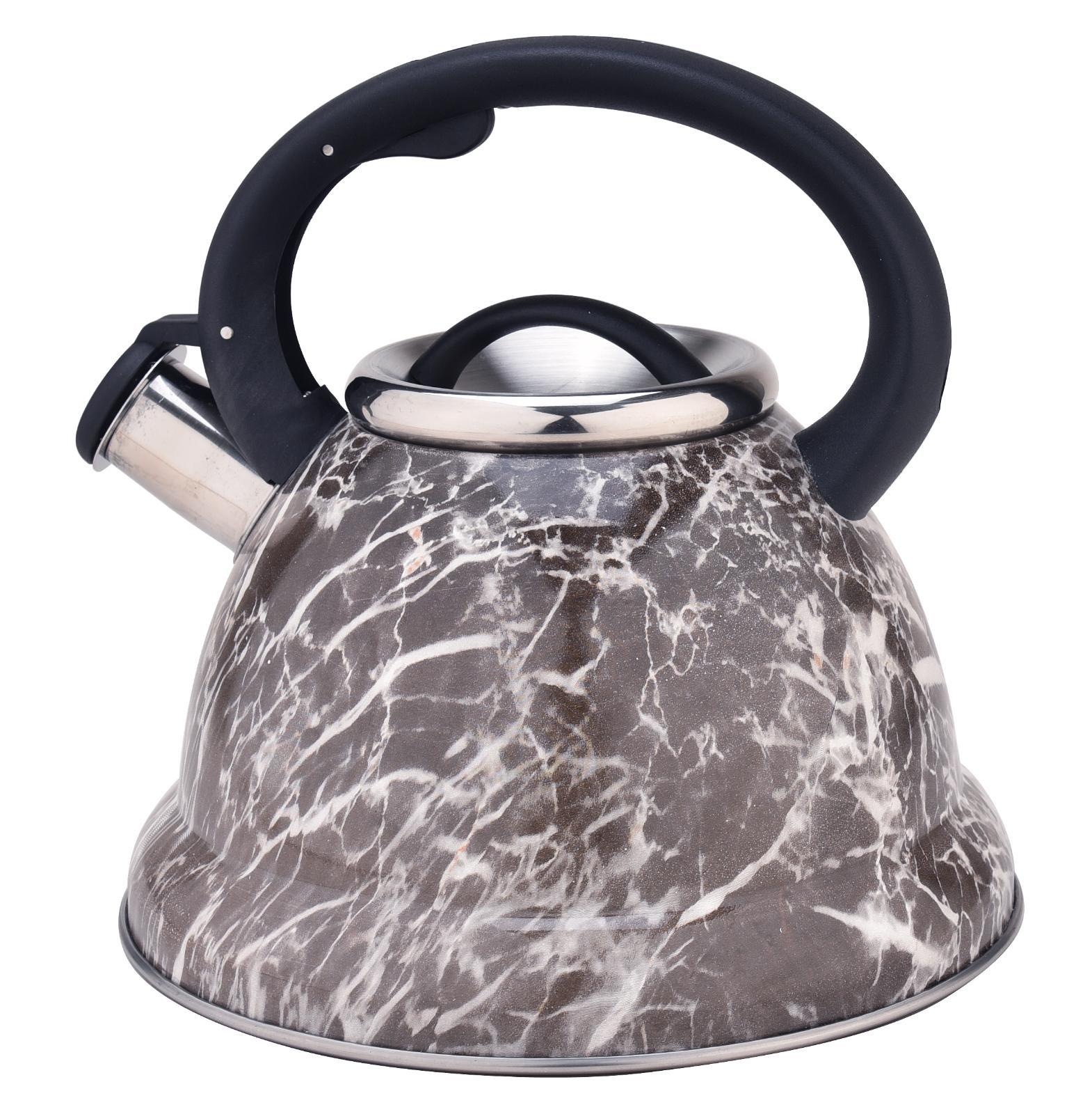 Stovetop Stainless Whistling Tea Kettle Pot