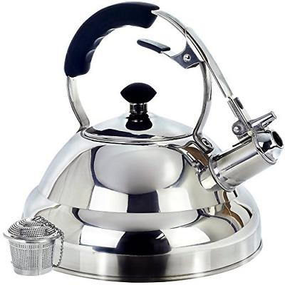 surgical stainless steel whistling tea kettle 2