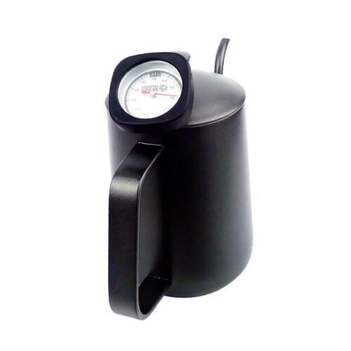 Tea Coffee Pot Espresso Hand Drip Tool + Black