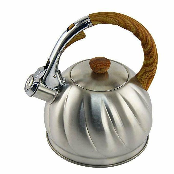 Tea Kettle 2.1 Whistling Stove Water