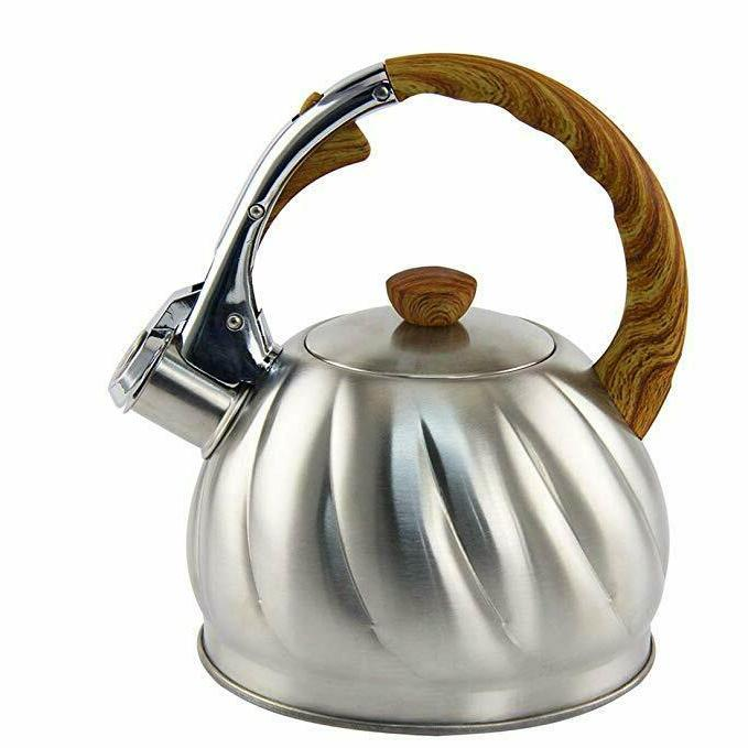 Tea Whistling Stainless Stove Top Teapot