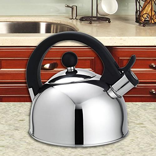 Home Basics Tea Kettle, 2.5-Liter