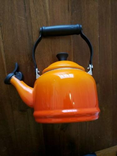 Le Ombre Orange 1.25 enamelware