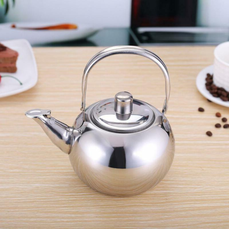 Tea Kettle Stainless Strainer Top Fast Water Coffee
