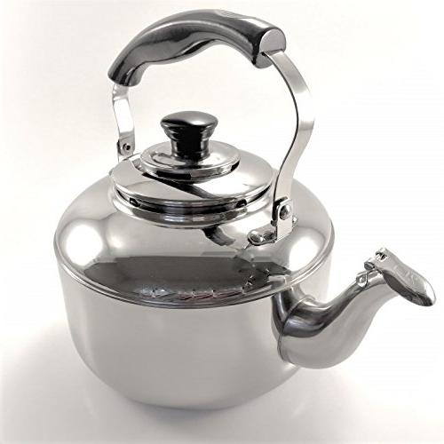 Tea Kettle Stainless Steel Whistling Teapot Teakettle for St
