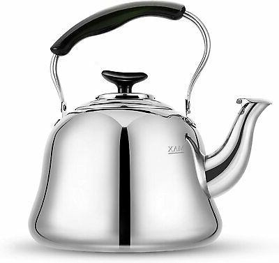 Stove Top Tea Kettles Kettle Stovetop Whistling Teakettle Te
