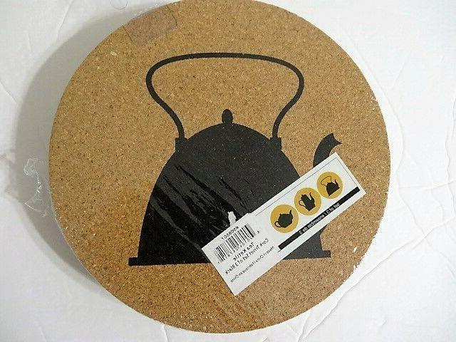 Harman Tea Cork Trivet 3 Protection Hot A