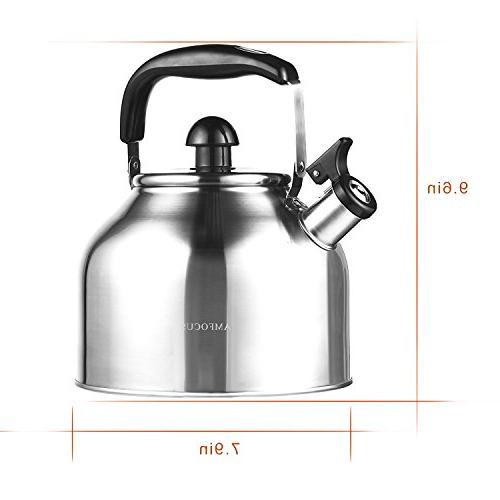 Tea Whistling for Teakettle Thin - Boil 2.8L