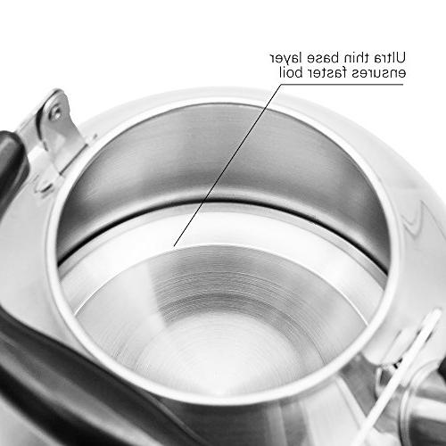 Tea Kettle for Teakettle Base - Boil 2.8L