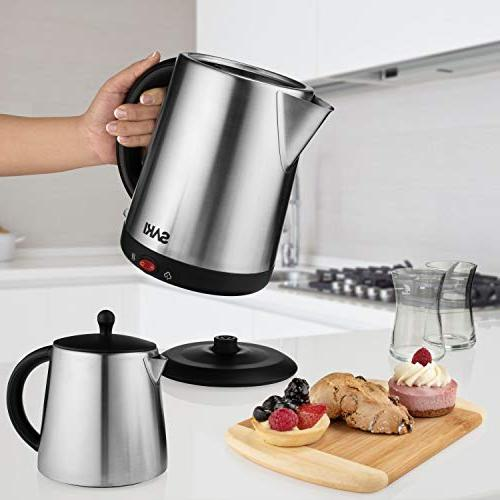 Saki Tea 1.7 L,110 V Kettle Teapot, Control, Keep Stainless Steel, Overheat Protection in Kettle
