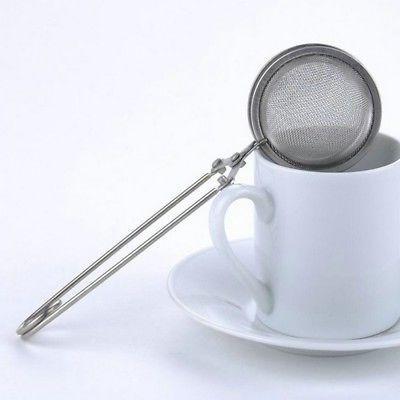 tea strainer stainless steel mesh infuser sphere