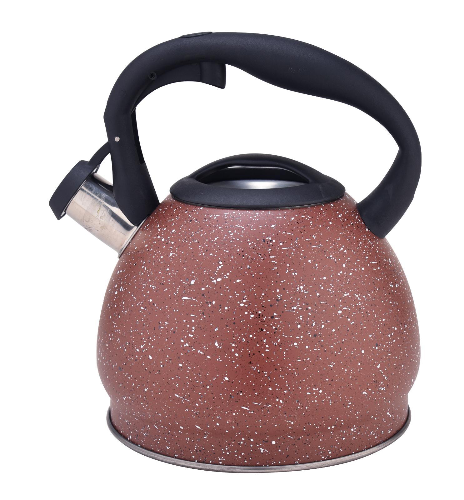 Teakettle Stovetop Teapot Stainless Steel Whistling Tea Kett