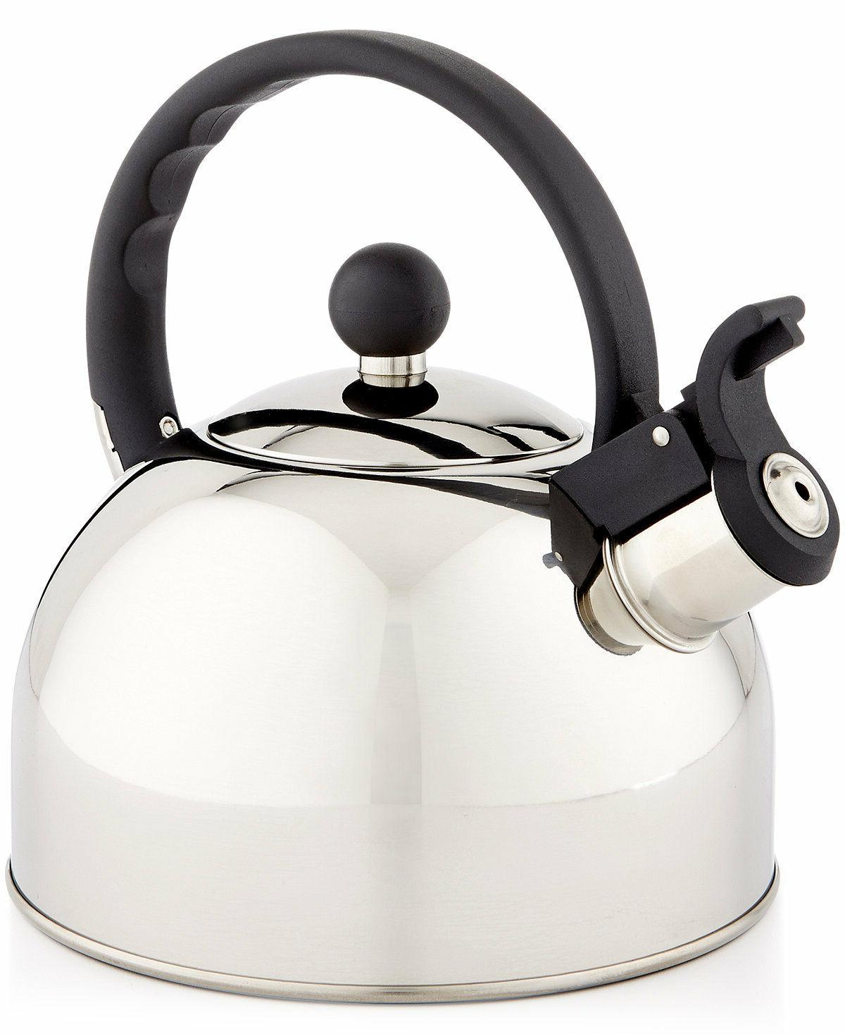 NEW Tools of the Trade 1.5-Qt. Brushed Stainless Steel Tea K
