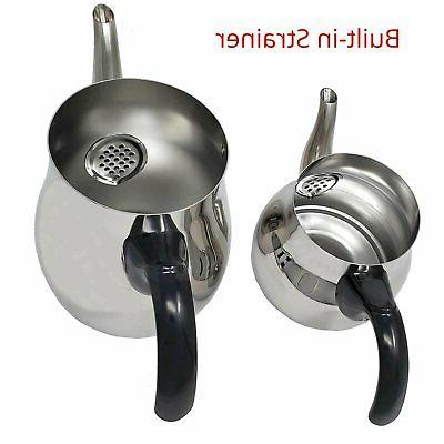 Turkish Tea Pot Kettle Water Strainer Style (1 and...