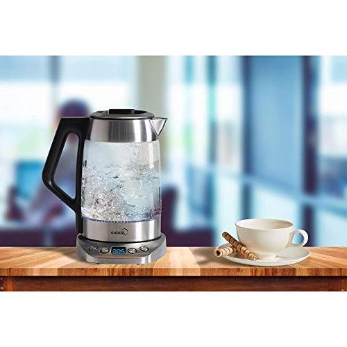 Midea Cordless Electric Glass(1.7 L) Control-Tea Shut-off