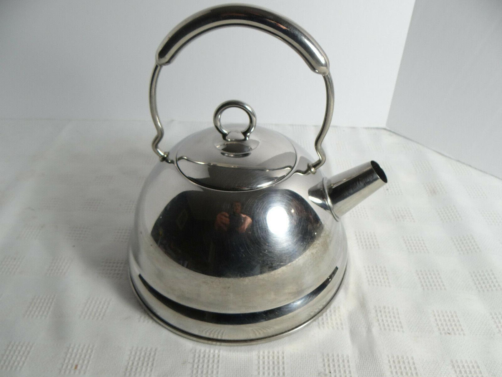 Vintage Copco Stainless Tea Kettle Made Korea