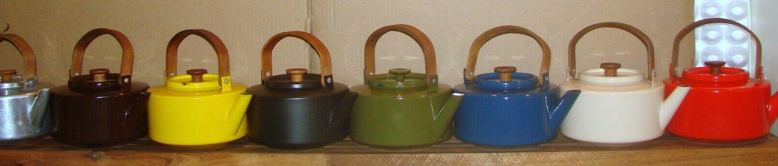 vtg tea kettle mcm michael lax design