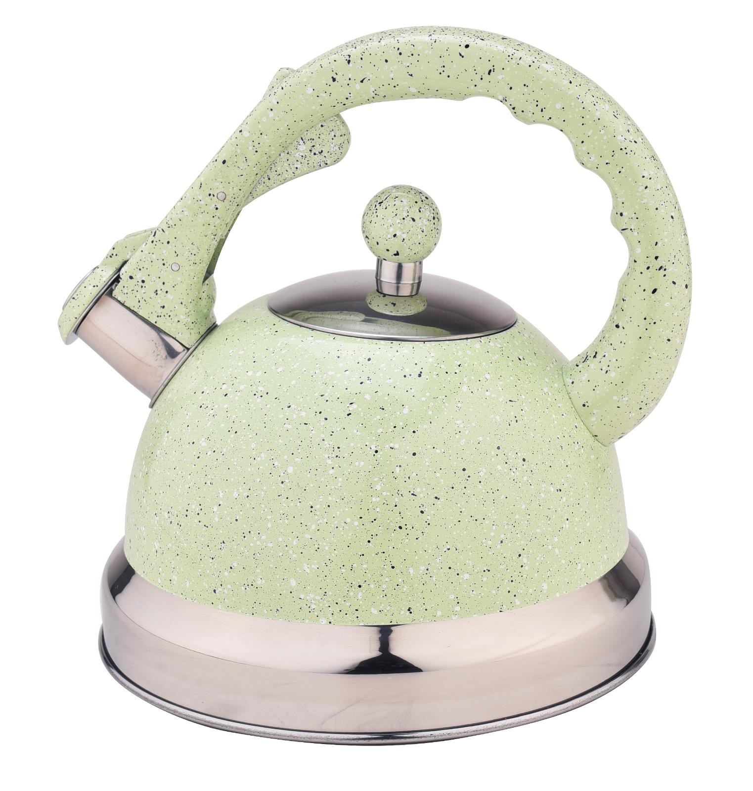 Water Kettle Pot Stovetop Teapot Stainless Steel Whistling T