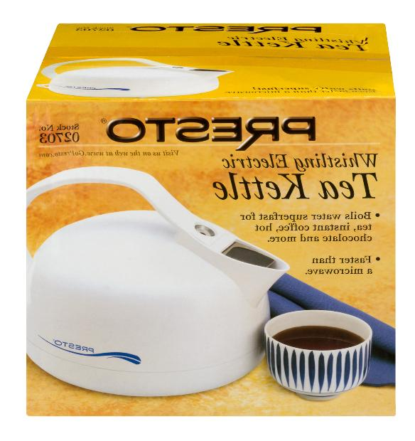whistling electric tea kettle