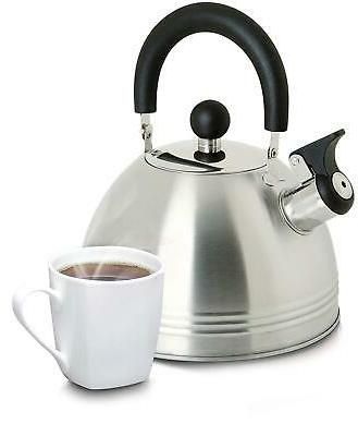 Whistling Tea Kettle Stainless Steel Safe Easy