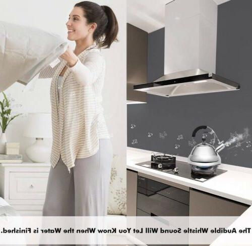 EMONIA Whistling Tea 2.6 L Stovetop Teakettles with