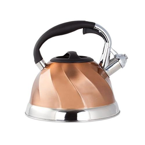 Imperial Kettle Stainless Tea Encapsulated Bottom Stylish Design Classic Tea