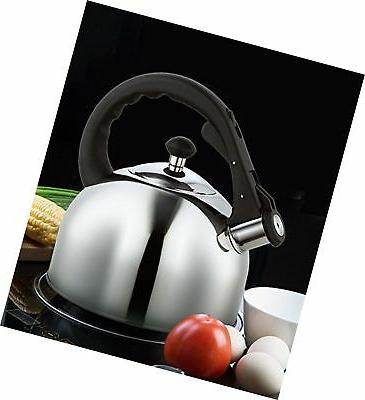 Homeinart Whistling Tea Stainless 2.6