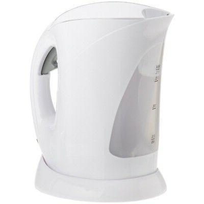 White Cordless Electric 1.7 Liter Kettle - White Cordless 15